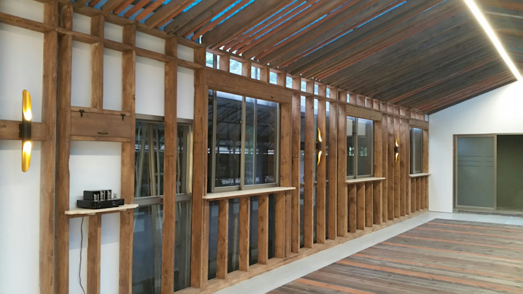 전원주택 별장 All 리모델링, Renovation 1/2: 나무의 노래의 컨트리 ,컨트리