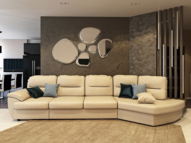 ДизайнМастер Modern Living Room Beige
