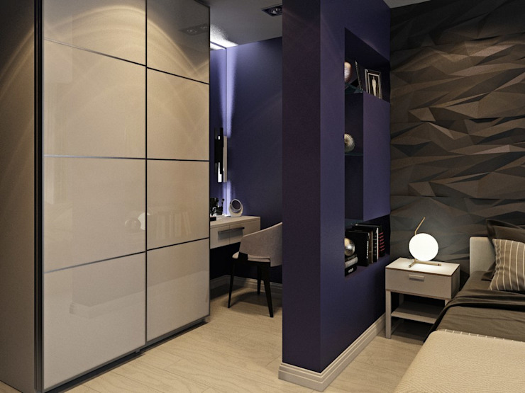 ДизайнМастер Modern Bedroom Brown