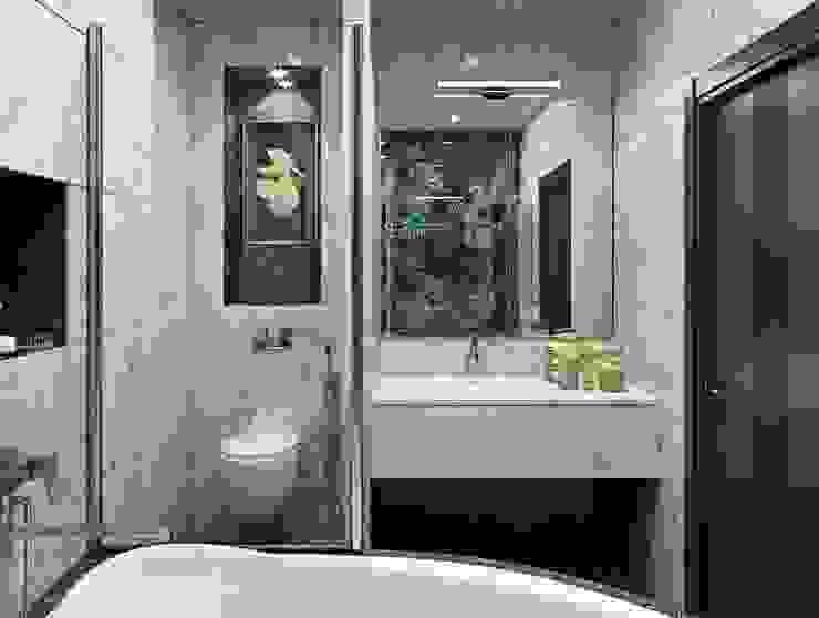 3к.кв. в ЖК Лазурная Симфония (101 м.кв.) Ванная комната в стиле модерн от ДизайнМастер Модерн