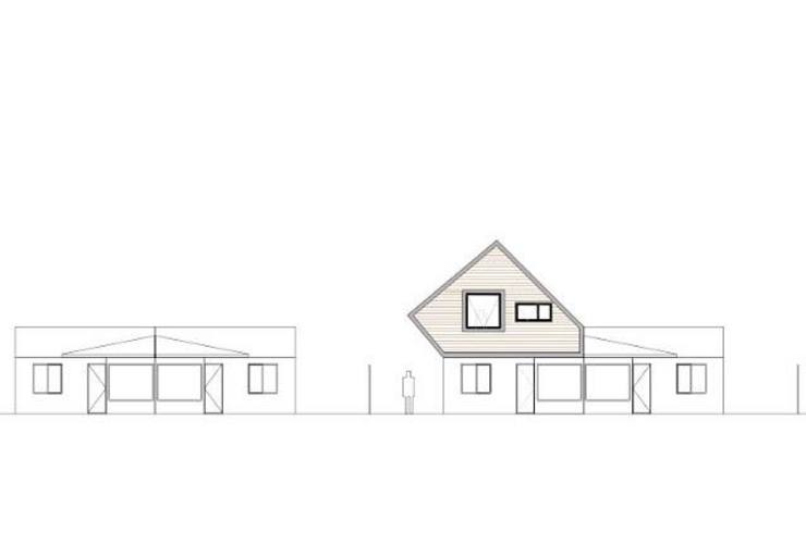 PLANIMETRÍA Casas estilo moderno: ideas, arquitectura e imágenes de corner Moderno