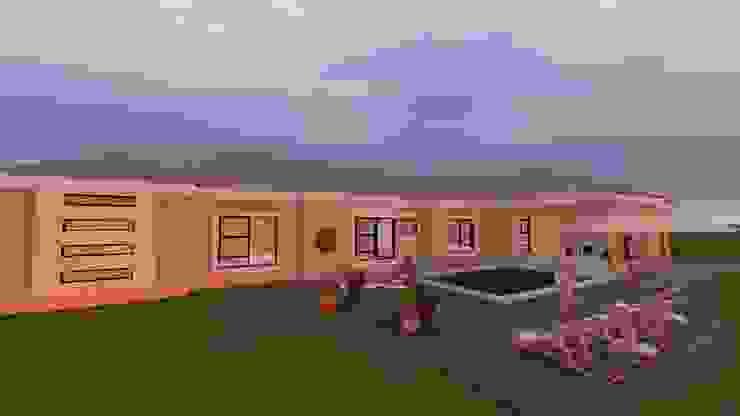 Dr Ndlovu family house by iRON B HOME DESIGN