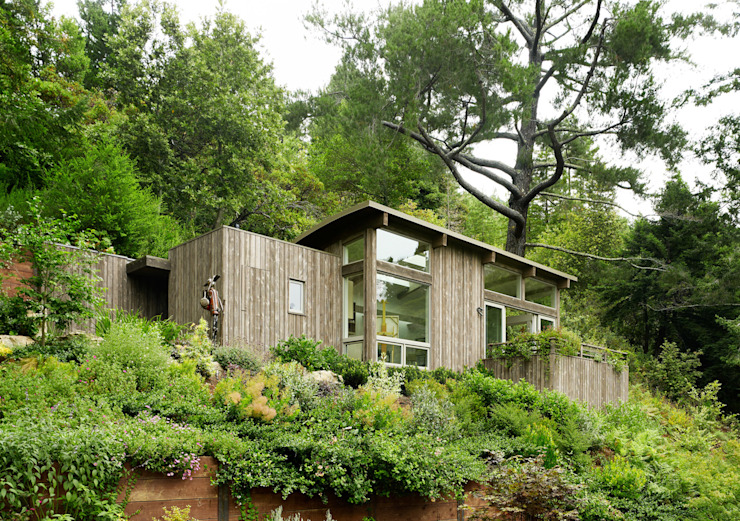 Mill Valley Cabins Feldman Architecture Modern Houses