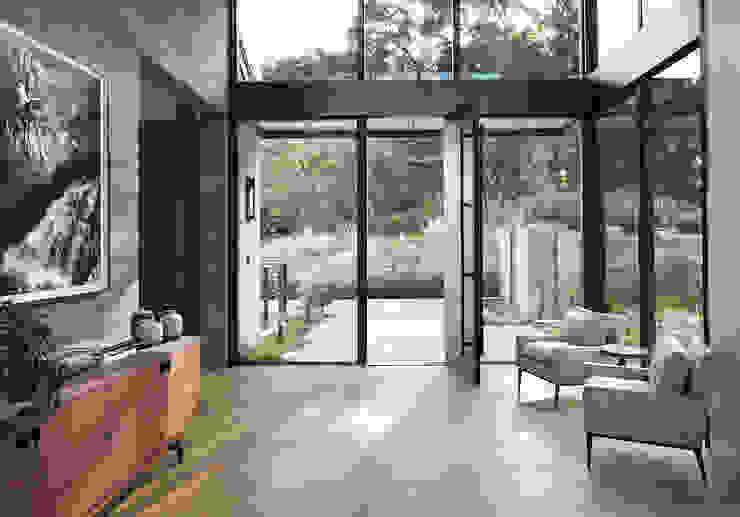 Woodpecker Ranch Feldman Architecture Modern style doors