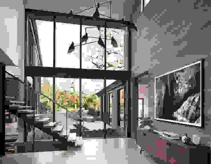 Woodpecker Ranch Feldman Architecture Stairs