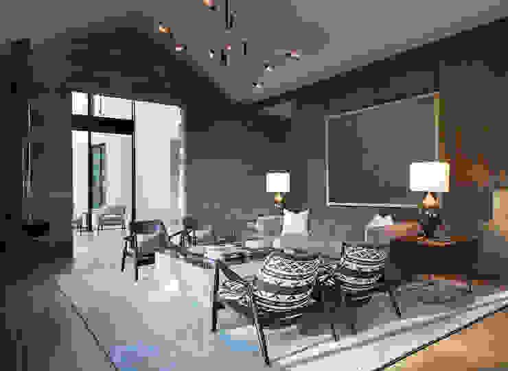 Woodpecker Ranch Feldman Architecture Modern Living Room