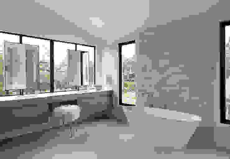 Woodpecker Ranch Feldman Architecture Modern Bathroom