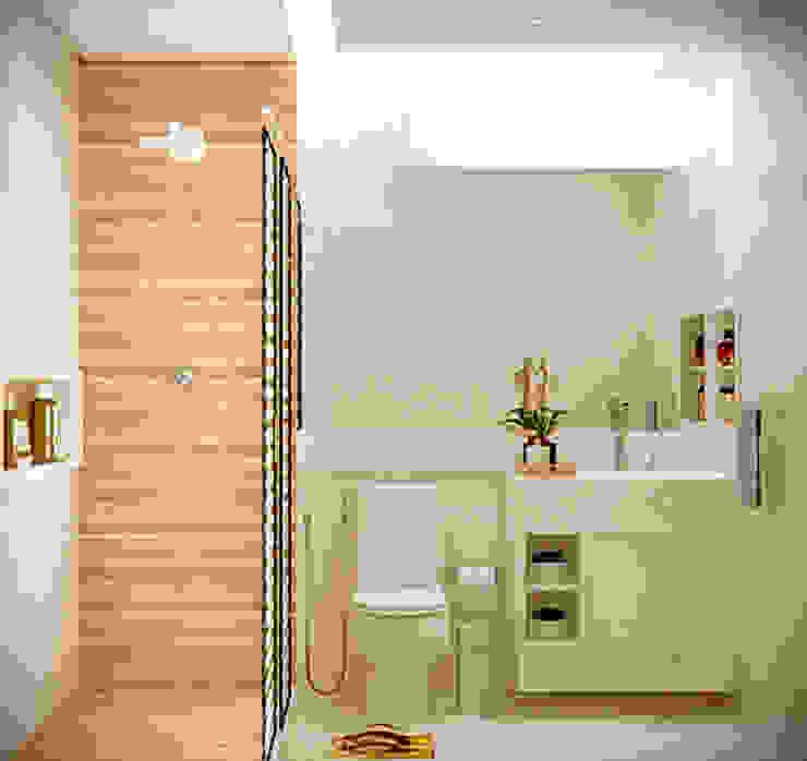 SCK Arquitetos Ванна кімната
