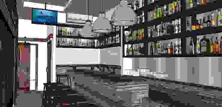 BEER N CO Bar & Klub Gaya Rustic Oleh PRIMA Rustic