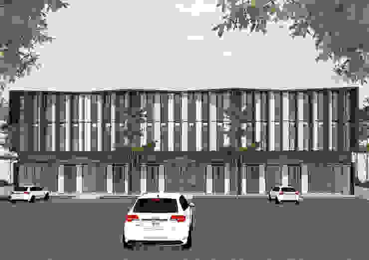 B SHOP HOUSE PHASE I Oleh MAV Architects