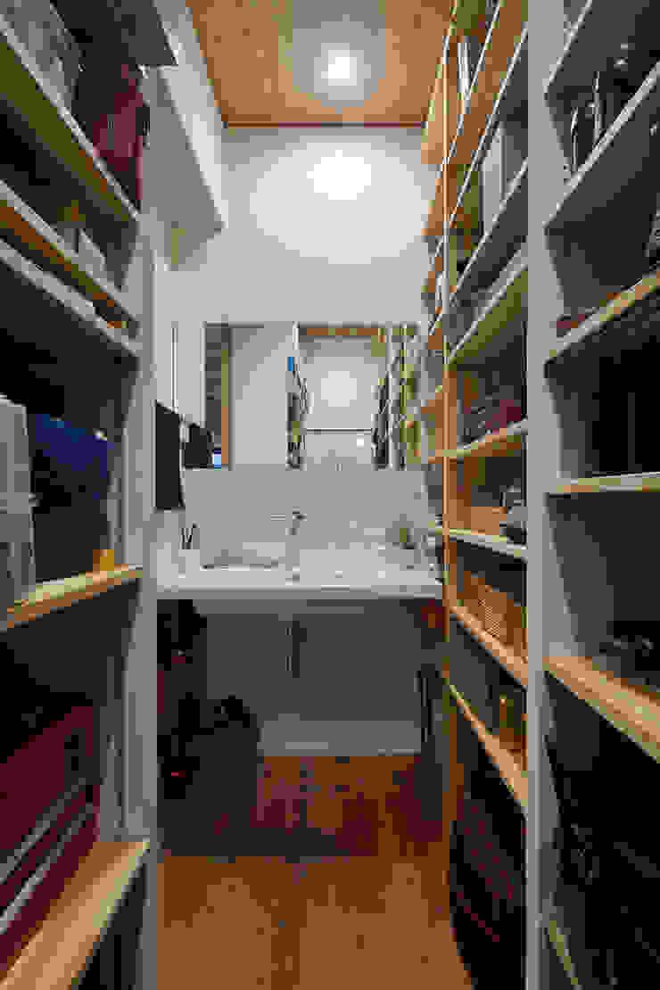 根來宏典建築研究所 ห้องแต่งตัว ไม้ Wood effect