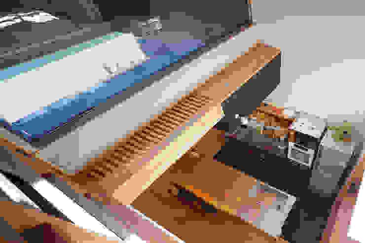 根來宏典建築研究所 ระเบียง, นอกชาน ไม้ Wood effect