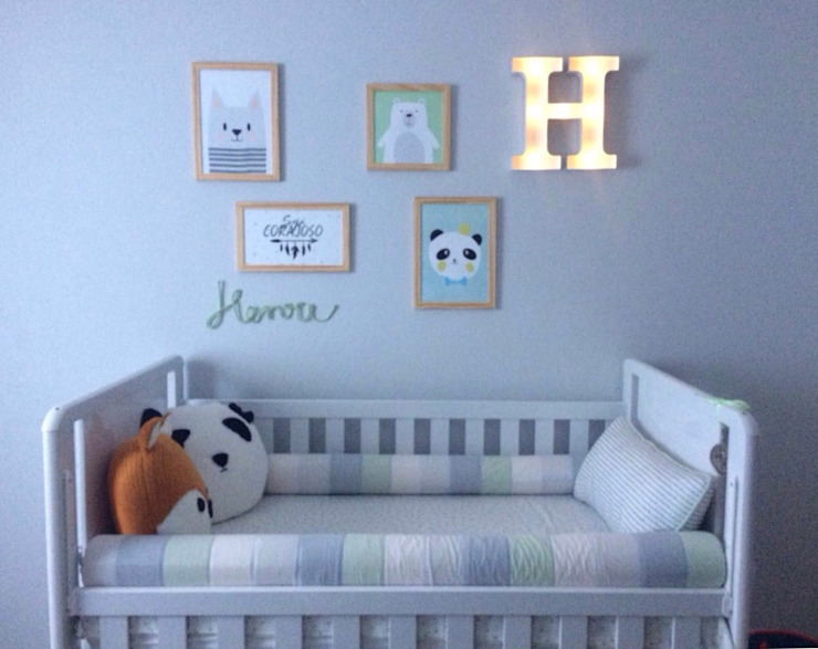 Quarto Bebê por Marina Duzzi Arquiteta Escandinavo