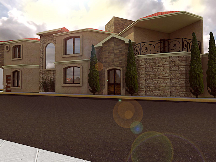 Colonial style houses by Bocetos Studio Aquitectos Colonial