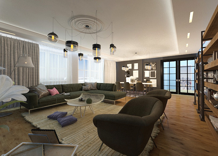 Livings de estilo  por 50GR Mimarlık , Moderno