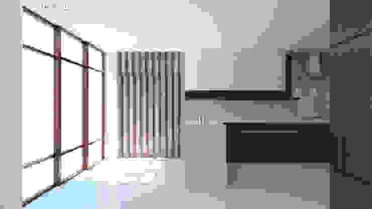Interior Kitchen Design, Modern Minimalist ABG Architects and Builders Kitchen