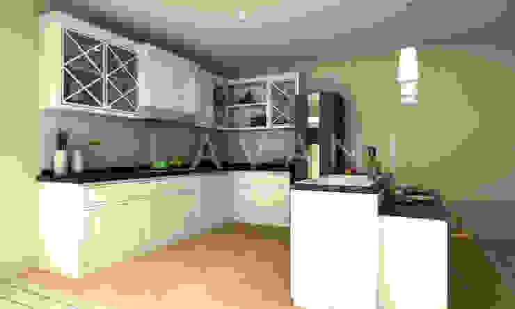 Classic Style Pantry and Mini Bar Oleh Lavani Interior Klasik Kayu Wood effect