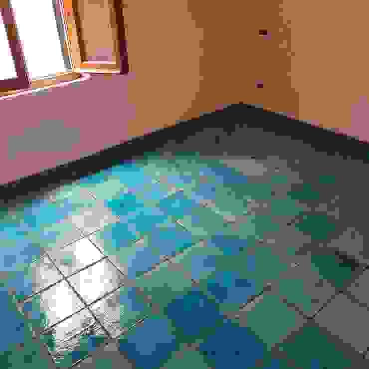 Tuscany Art Salle à manger méditerranéenne Céramique Turquoise