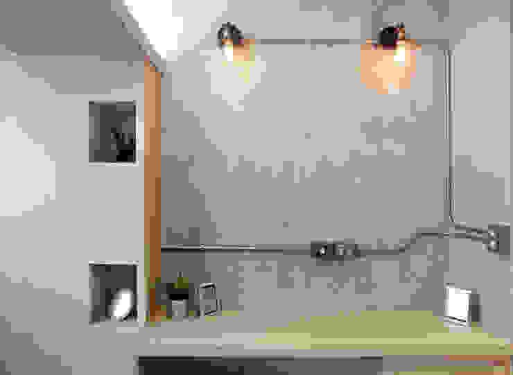 高雄衛武營公寓住宅 - 次臥房 根據 森畊空間設計 工業風 強化水泥