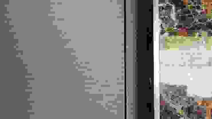 부여 석동리 전원주택 / 1F 컨트리스타일 복도, 현관 & 계단 by 에이프릴디아 컨트리