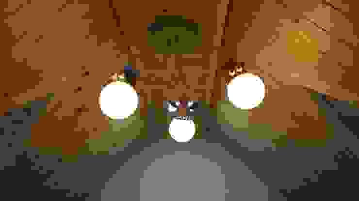 ③부여 석동리 전원주택 2F 컨트리스타일 미디어 룸 by 에이프릴디아 컨트리