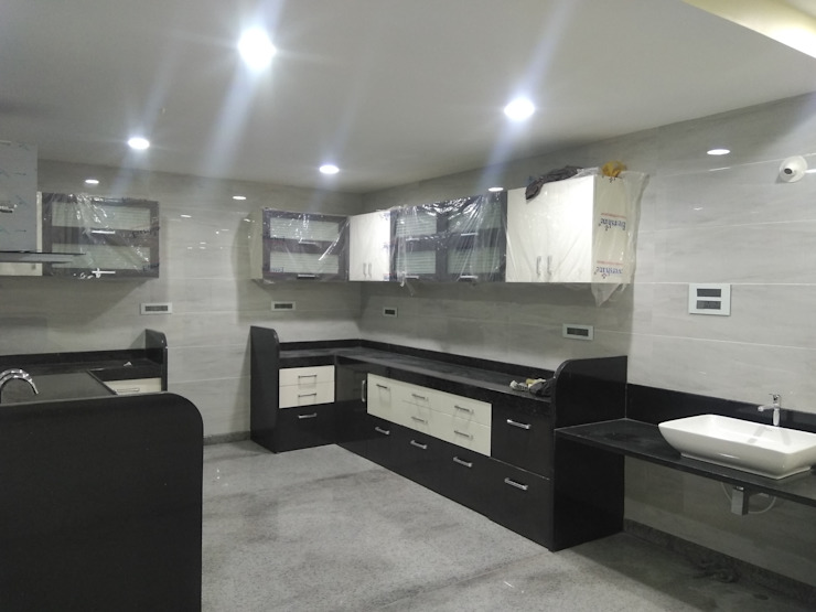 Modular Kitchen by Cfolios Design And Construction Solutions Pvt Ltd Modern