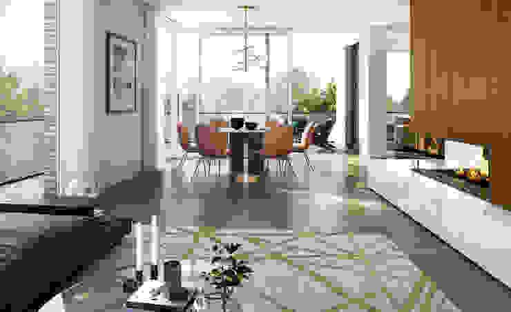 winhard 3D Salones de estilo moderno
