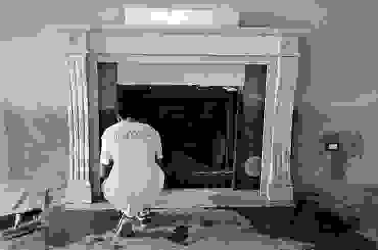 Klassische Wohnzimmer von Pietre di Rapolano Klassisch Stein