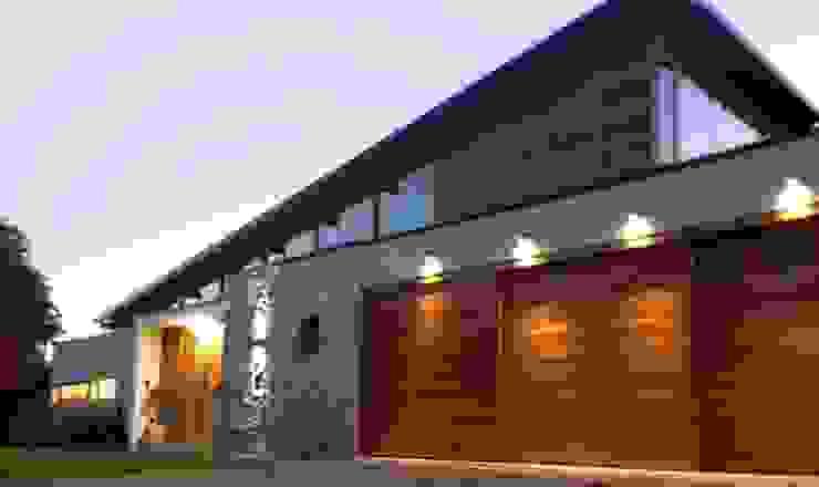 Viviendas Loteo Las Lavandas de Azcona Vega Arquitectos Moderno