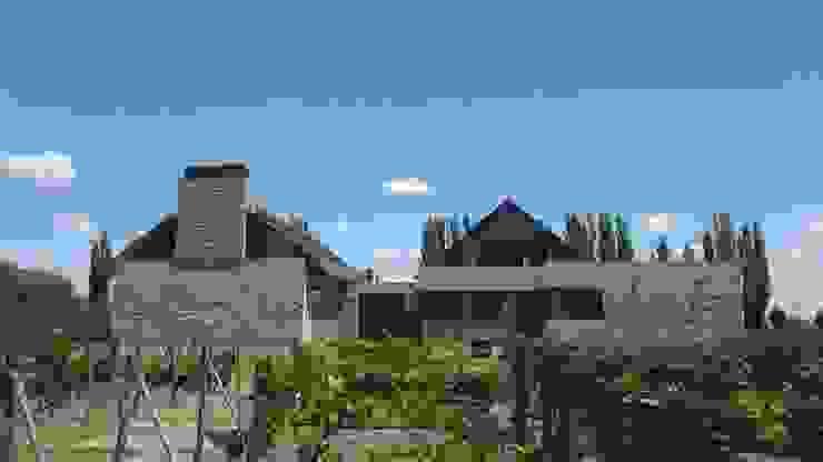Maisons rustiques par Azcona Vega Arquitectos Rustique