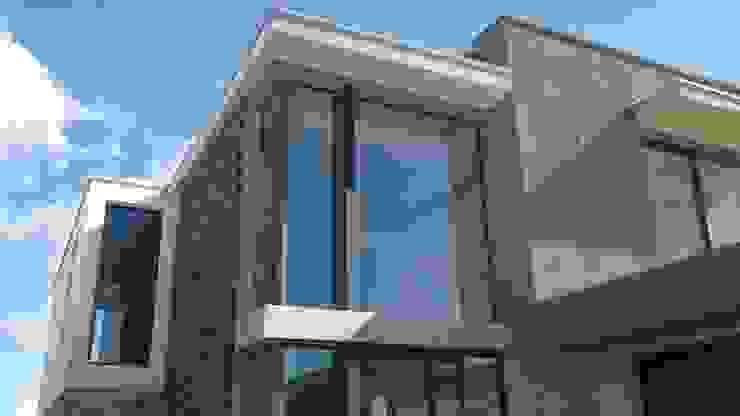 Vivienda en Cortaderas de la Noria Casas modernas: Ideas, imágenes y decoración de Azcona Vega Arquitectos Moderno