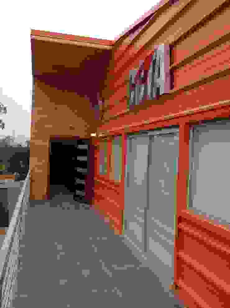 oficinas CCTA de IDEAfactory Moderno Hierro/Acero