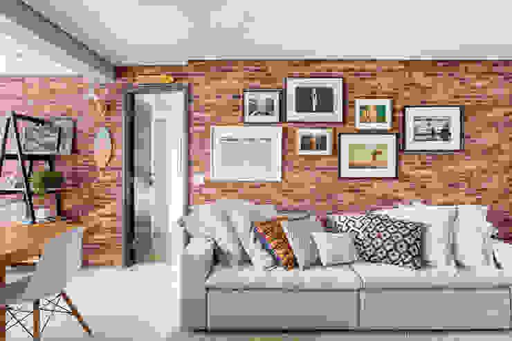 Ana Mendes Arquitetura Living room