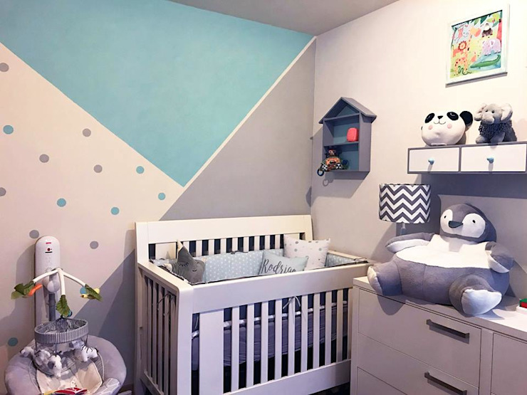 Baby room by Franko & Co., Modern