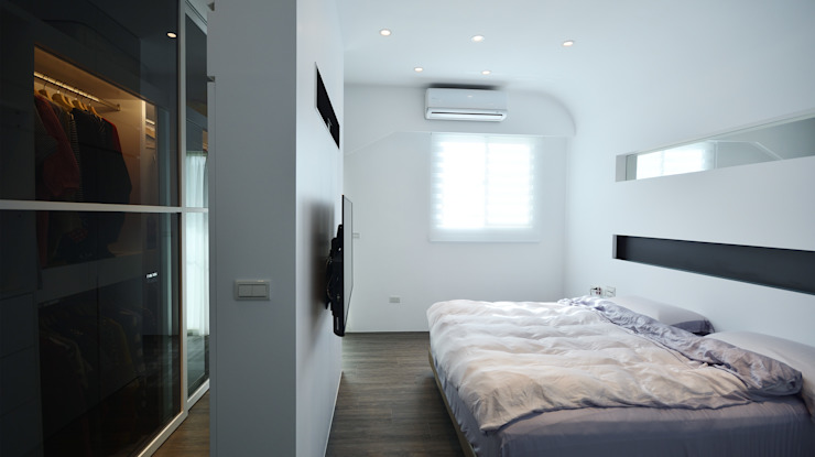 Dormitorios de estilo moderno de 瓦悅設計有限公司 Moderno