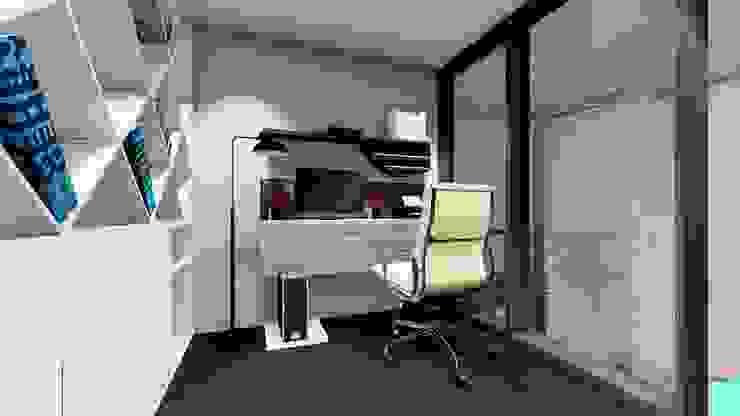 Sachin Hubballi Residence @ Bagalkot: minimalist  by Cfolios Design And Construction Solutions Pvt Ltd,Minimalist