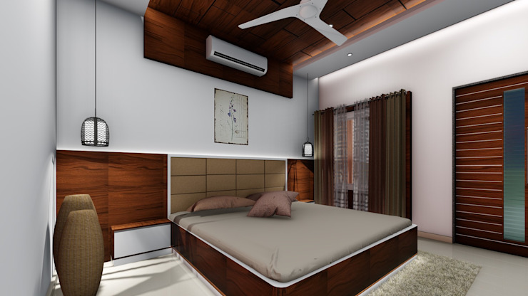 Chunilal Bungalow @ Vijayapura: classic  by Cfolios Design And Construction Solutions Pvt Ltd,Classic