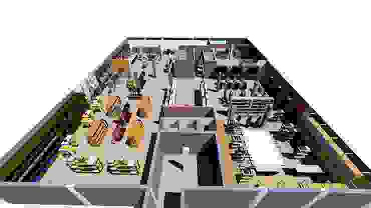 Shree Shanteshwar Supermarket @ Nidagundi, Vijayapura by Cfolios Design And Construction Solutions Pvt Ltd