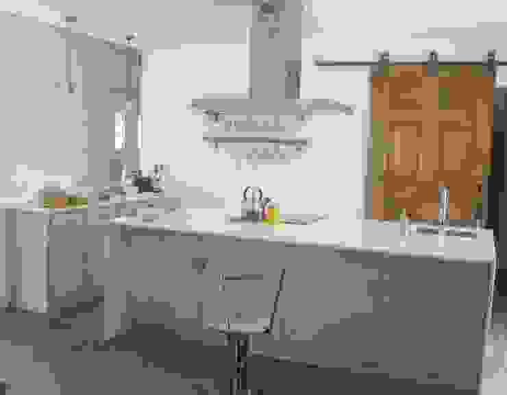 Casa da Ribeira CF Arquitectura e Design Cozinhas rústicas