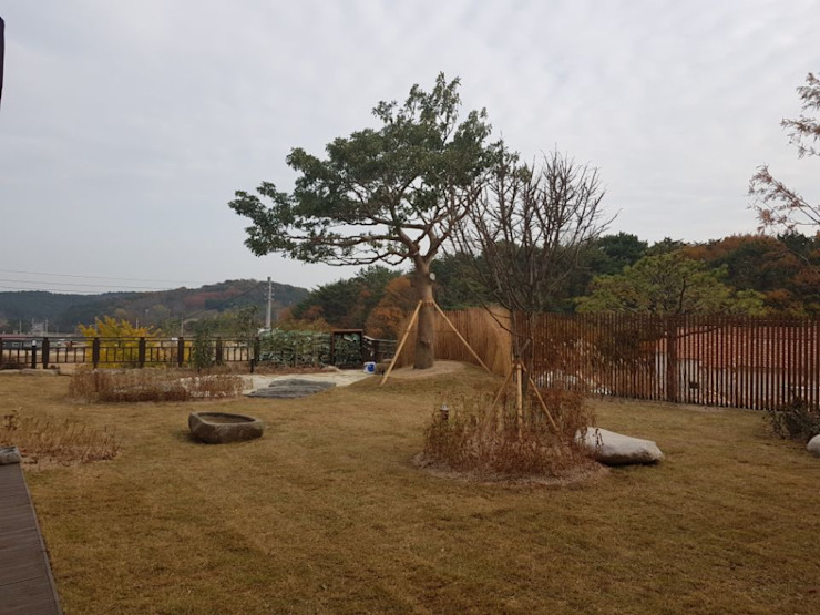 Eclectic style garden by (주)더숲 Eclectic
