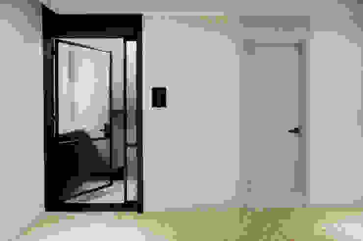 중문 모던스타일 거실 by 카라멜 디자인 스튜디오 모던 MDF