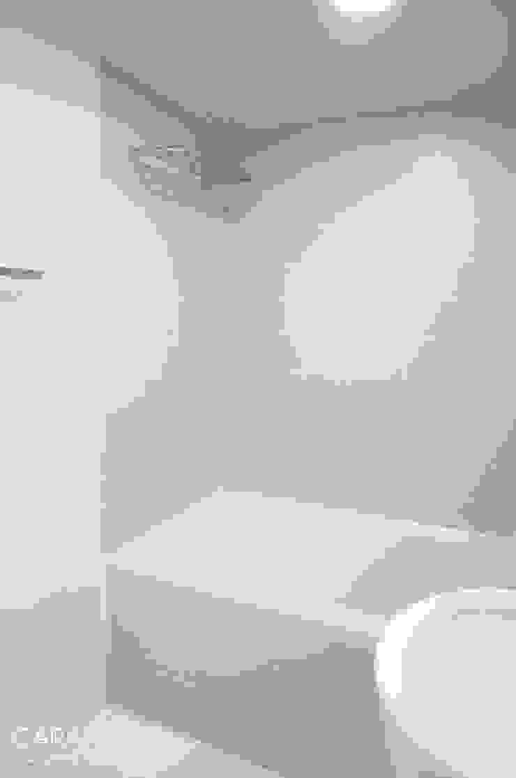 욕실 모던스타일 욕실 by 카라멜 디자인 스튜디오 모던 MDF