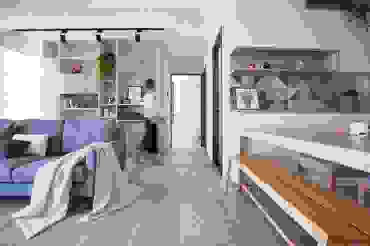 寧靜空間 根據 極簡室內設計 Simple Design Studio 北歐風