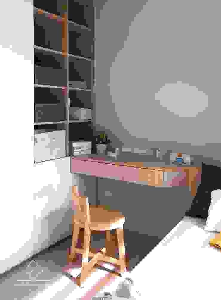 客臥規劃 根據 極簡室內設計 Simple Design Studio 北歐風