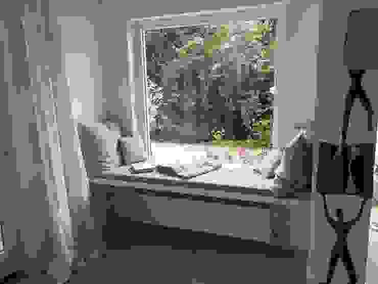 Sitzbank sia Moderne Wohnzimmer Holz Türkis