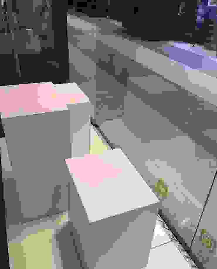 Fabricación de Mobiliario para Mario Hernandez de Felipe Lara & Cía Minimalista Madera Acabado en madera