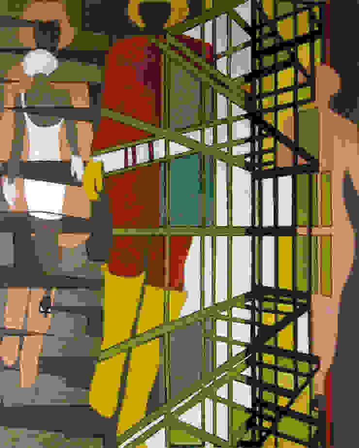 Jung schön erfolgreich angepasst !! 11: modern  door New German Art, Modern