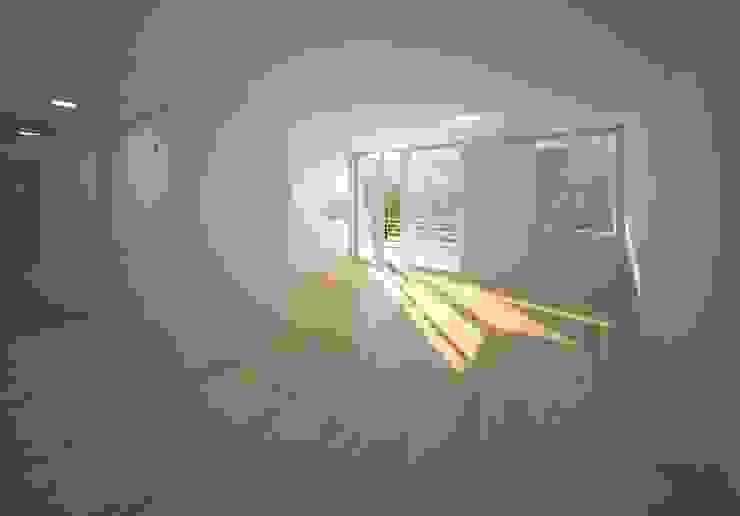 Wohnen am Leopoldplatz // Wohnungen designyougo - architects and designers Moderne Wohnzimmer Holz Beige