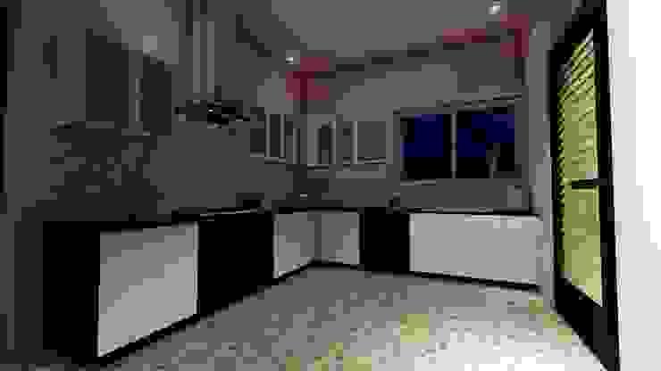 Amruta Patil @ Hubli: minimalist  by Cfolios Design And Construction Solutions Pvt Ltd,Minimalist