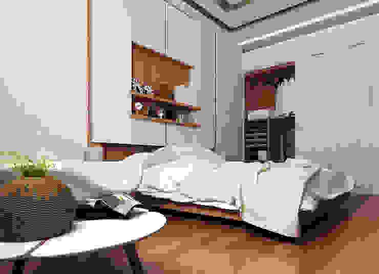 modern  by TK Designs, Modern Wood-Plastic Composite